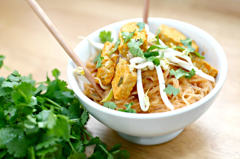 Produce on Parade: Thai Coconut Curry with Kelp Noodles
