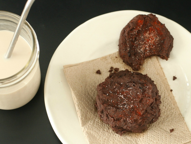 Produce on Parade: Chocolate Chipotle Black Bean Cherry Cookies