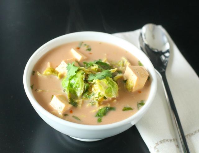 Produce On Parade: Zesty Coconut-Lime & Tofu Soup