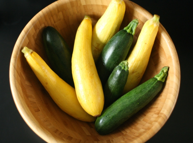 Produce on Parade:Green Curry with Summer Squash and Fresh Peas